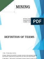 Orlinos Report Mine Plant Design