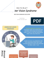 REFERAT COMPUTER VISION SYNDROME PPT