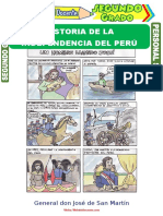 Historia de La Independencia Del Perú Para Segundo Grado de Primaria