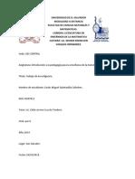 Tarea 5- Introduccion a La Pedagogia Para La Enseñanza de La Matematica, Trabajo de Investigacion,Carlos Miguel Quintanilla Colindres QC07013