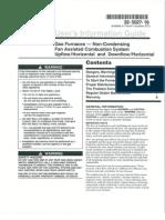 Trane Gas Furnace UE1 User Guide