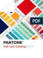 PANTONE Full Line Color Standards Tools Catalog 2019