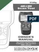 Innova Scan Tool 3160g Users Manual