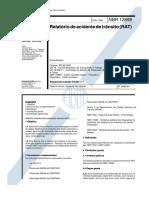 NBR 12898 - Relatorio de Acidente de Transito (RAT)