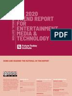 FTI Journalism Trends 2020