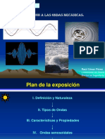 Ondas mecanicas - física I - prof. Pérez
