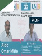 Elecciones en Sáenz Peña