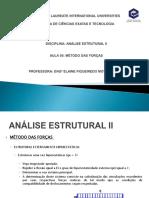 Aula 05 Metodo Das Forcas
