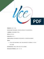 Evolución Histórica Del Transporte en América y en El Ecuador