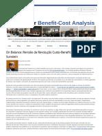 Artigo - Revisão da Revolução Custo Benefício por Cass R. Sunstein Sociedade para análise de custo-benefício - Lisa A. Robinson.pdf