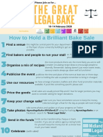 guide how to hold a brilliant bake sale 2020