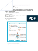 Factores de Riesgo Con Sustancias Psicoactivas