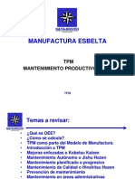 Dd2005 - Tpm - Mantenimiento Productivo Total