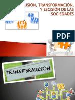 Transformacion, Fusion, Escision y Reorganizacion Simple