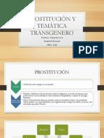 Sosa Alejandra Prostitución y Temática Transgenero