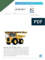 Komponen Unit HD 785-7 Komatsu - dtambang.com235408.pdf
