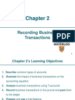 Ch.2 - Recording Business Transactions (Pearson 6th Edition)_MH