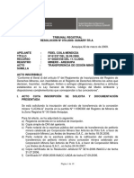 TR Resol 078-2009