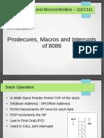 8086 Procedures Macros Interrupts