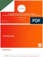 Sondage DGFiP Réseau de Proximité