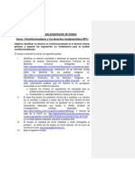 Lineamientos Para Ensayo Historia Del Derecho Constitucional