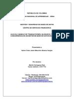 Informe herramientas de monitoreo de bases de datos