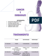 Cancer y Gestacion..