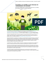 Ciudadanos Convertidos en Científicos Que Informan de Avistamientos de Animales