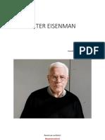 Peter Eisenman Rubeena