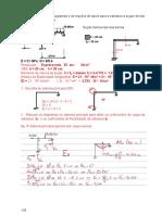 Método das forças - Hiperestático - Pórtico