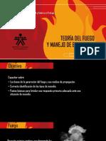 Teoría Del Fuego y Manejo de Extintores