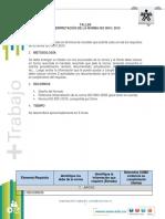 Interpretación ISO9001-2015 CAPITULO 7