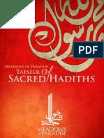 Tafseer Of Sacred Hadith