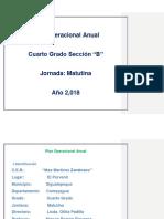 Plan Operacional Anual 2018