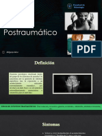 Estrés Posttraumatico