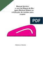 Manual Tecnico Para Uso Da Regua Cava de Modelagem Marlene Mukai