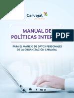 Manual de Políticas Internas Para El Manejo de Datos Personales