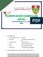 Planificación Curricular Anual - Inicial - 3 y 4 Años