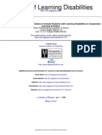 Journal of Learning Disabilities Volume 31 Issue 1 1998 [Doi 10.1177_002221949803100105] Bryant, D. P.; Bryant, B. R. -- Using Assistive Technology Adaptations to Include Students With Learning Disa
