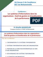 Gouvernance des systèmes d'information