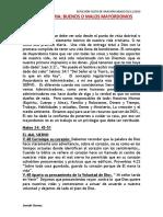 Mayordomia -Mayordomo Malo o Bueno- Reflexion Sabado 02-11