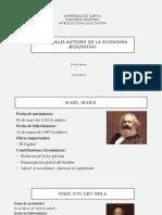 Principales autores de la Economía