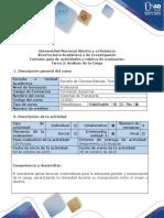 Guía de Actividades y Rubrica de Evaluación - Tarea 2 - Análisis de La Carga