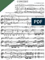 Beethoven Violin Concerto Score op. 61