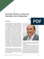 Entrevista Domingo Plácido
