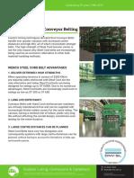 Steel Cord Conveyor Belting