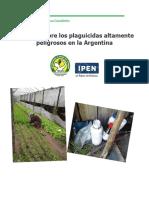 Informe Sobre Los Plaguicidas Altamente Peligrosos en Argentina