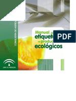 MANUAL DE ETIQUETADO DE PRODUCTOS ECOLOGICOS