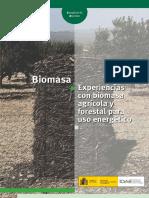 Biomasa agrícola y forestal para energía