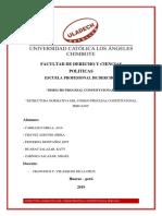 El Codigo Procesal Constitucional Peruano y Su Estructura Normativa